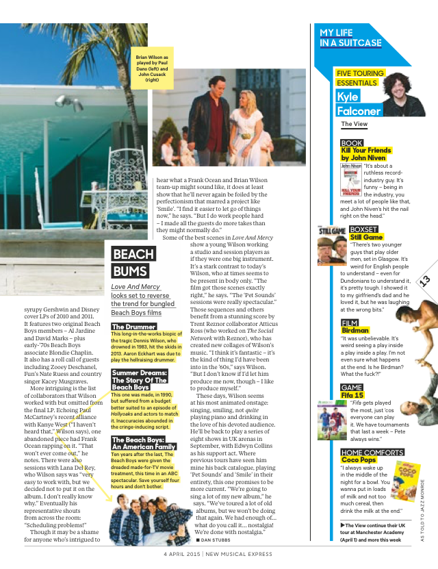 BW NME Feature Part 2